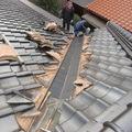 屋根の谷を取替