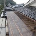 2階ベランダ屋根ポリカの修繕